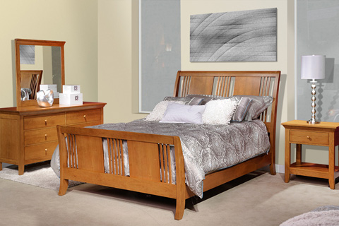 Country View Woodworking, Ltd - One Drawer Nightstand - 300-500