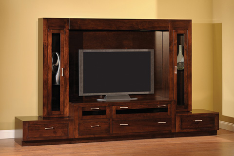 Country View Woodworking, Ltd - Odessa Entertainment Center - 82-66WU