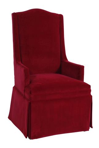 Cox Manufacturing - Kick Pleat Host Chair - 1593