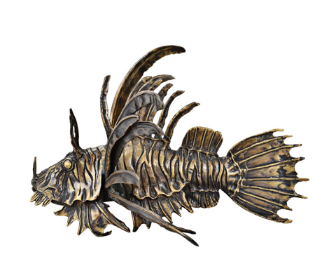 Curate by Artistica Metal Design - Lionfish - AC13-015