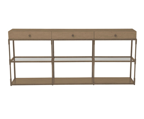 Curate by Artistica Metal Design - Triple Console Table - C101-275
