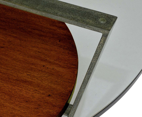 Curate by Artistica Metal Design - Round Cocktail Table - C103-240