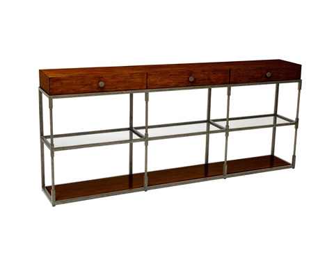 Curate by Artistica Metal Design - Triple Console Table - C103-275