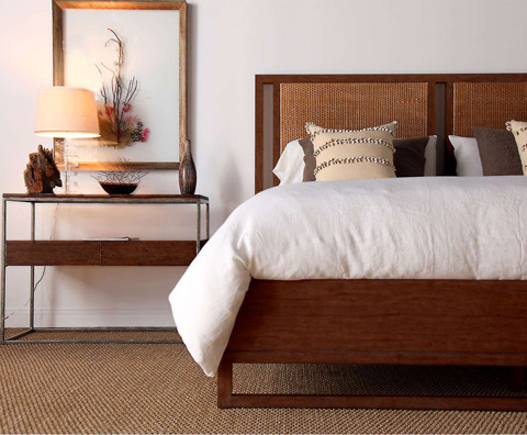 Curate by Artistica Metal Design - Leeward Conte King Bed - C103-566