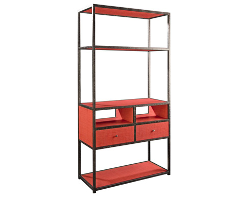Curate by Artistica Metal Design - Media Etagere - C206-840
