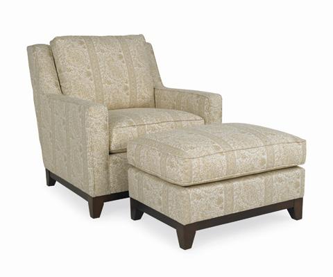 C.R. Laine Furniture - Carter Ottoman - 1487