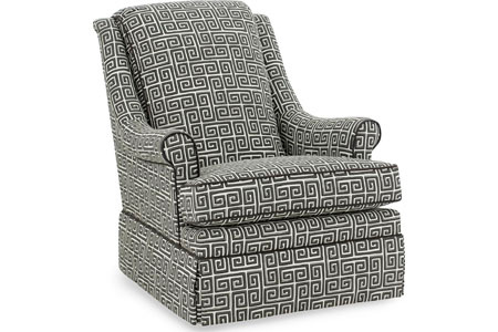 Image of Holden Swivel Glider Chair