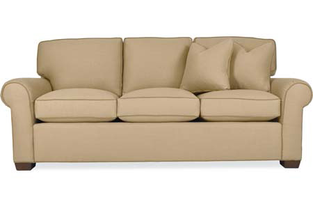 C.R. Laine Furniture - Custom Design Sock Arm Sofa - CD8700S