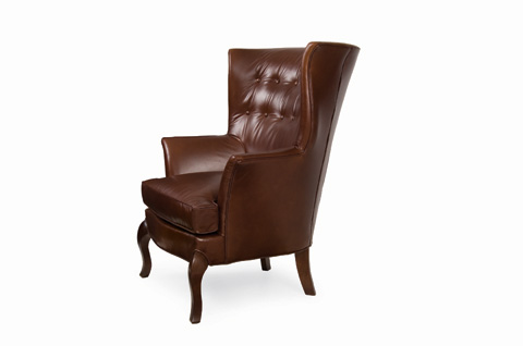 C.R. Laine Furniture - Dautry Leather Chair - L1095