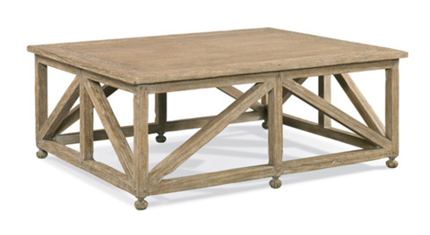 CTH-Sherrill Occasional - Rectangular Cocktail Table - 960-042