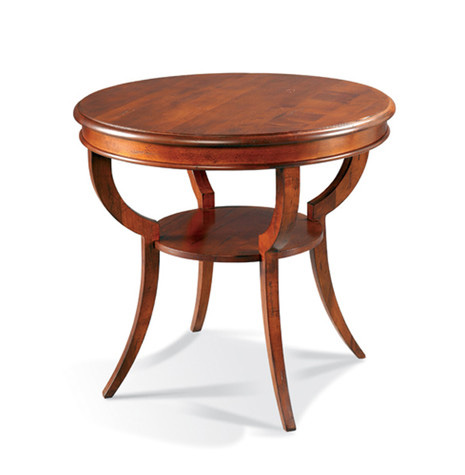 CTH-Sherrill Occasional - Round Lamp Table - 545-985
