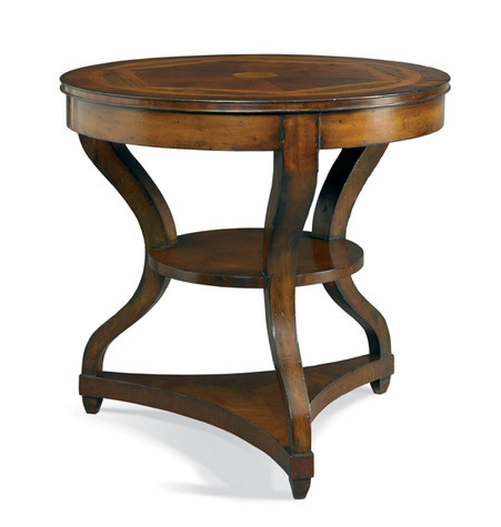 CTH-Sherrill Occasional - Round Lamp Table - 960-637