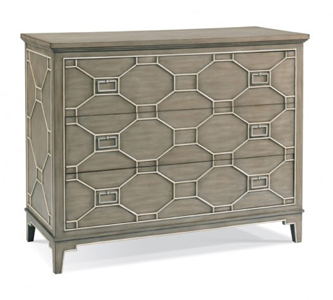 CTH-Sherrill Occasional - Fretwork Chest - 963-155