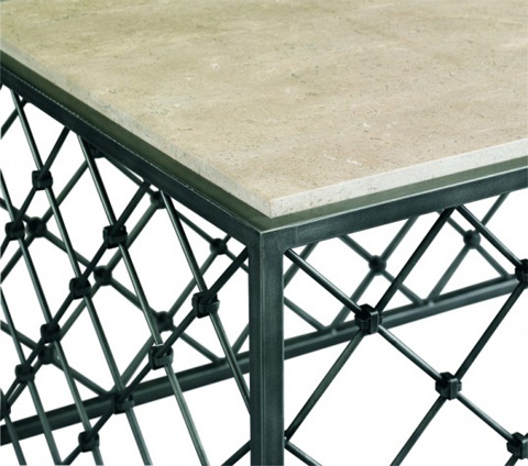 CTH-Sherrill Occasional - Lattice Cocktail Table - 963-850