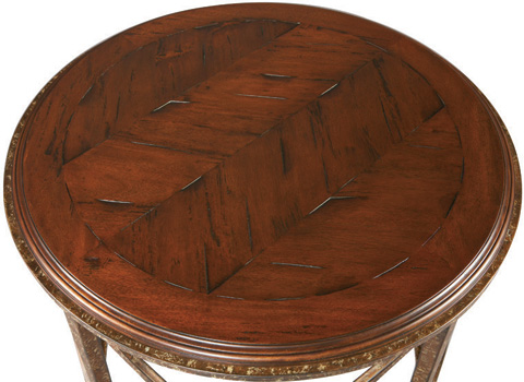 CTH-Sherrill Occasional - Round Lamp Table - M50-37