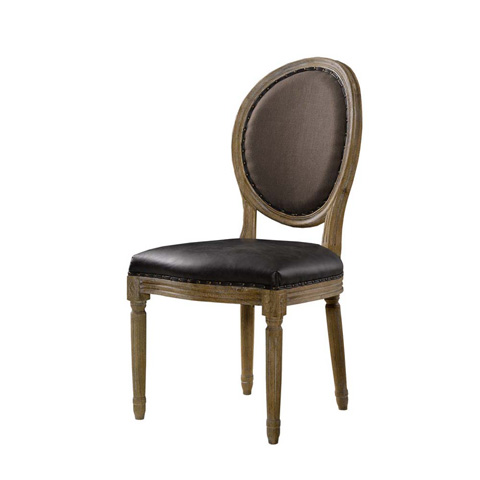 Curations Limited - Louis Glove Round Back Side Chair - 8827.1103