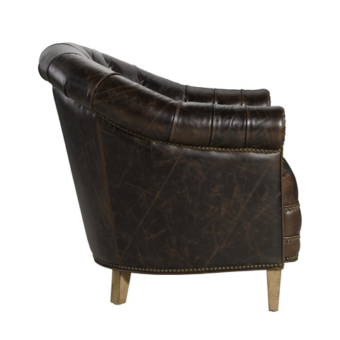 Curations Limited - Chamberry Leather Arm Chair - 7841.3201