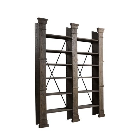 Curations Limited - X-Cross Double Bookshelf - 8810.1001.80