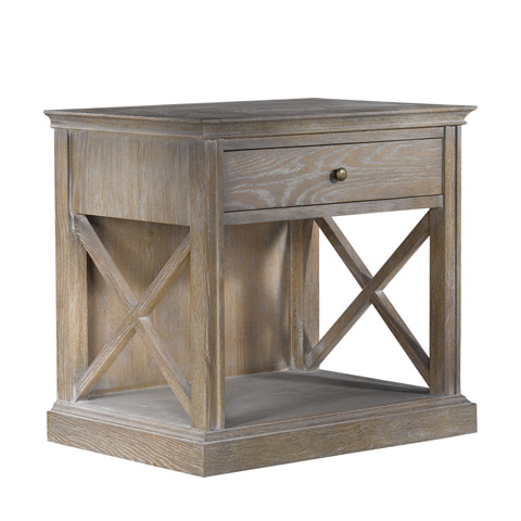 Curations Limited - French Casement Accent Table - 8810.1143.E272