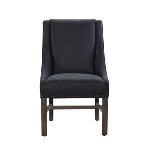 Curations Limited - Indigo New Trestle Chair - 8826.0003.A012