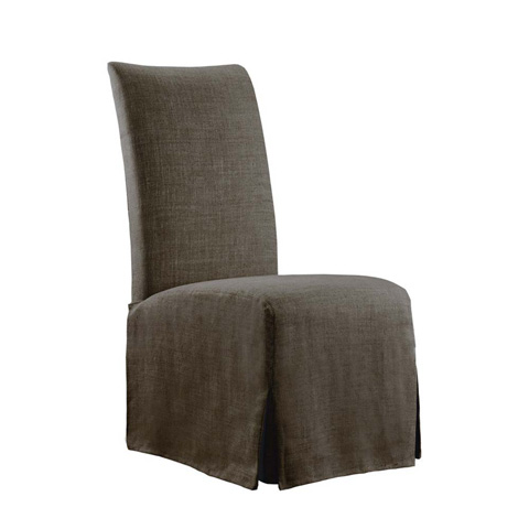 Curations Limited - Brown Flandia Slip Covered Chair - 8826.1002.A008