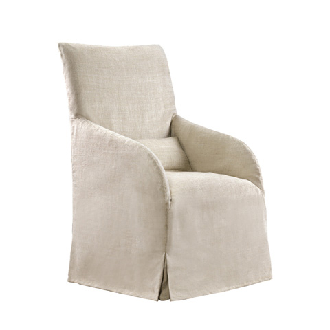 Curations Limited - Beige Flandia Arm Chair - 8826.1004.A015