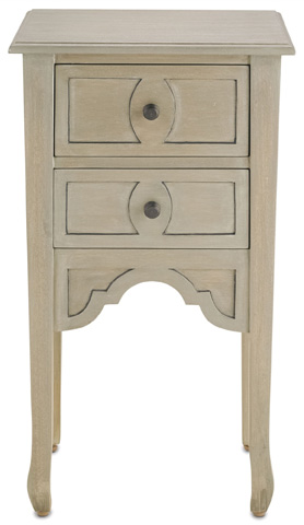 Currey & Company - Dominic Nightstand - 3216