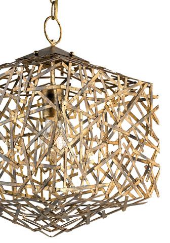 Currey & Company - Confetti Cube Pendant - 9168