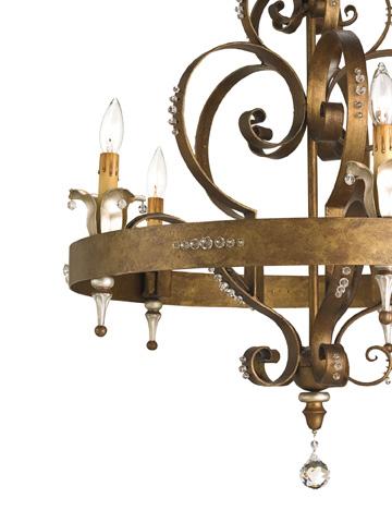 Currey & Company - Salzburg Chandelier - 9526