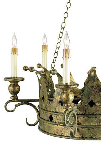 Currey & Company - Crown Chandelier - 9547