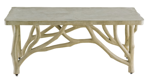 Currey & Company - Creekside Console Table - 2038
