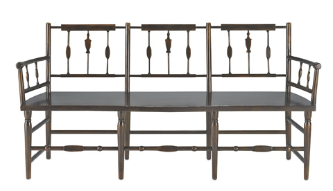 Currey & Company - Chestertown Bench - 3229