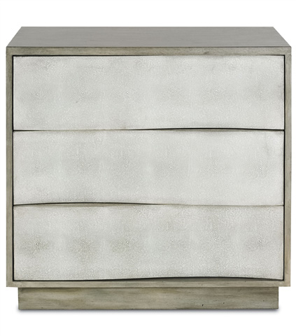 Currey & Company - Wave Three Drawer Chest - 3238