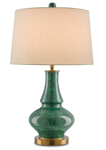 Currey & Company - Viridian Table Lamp - 6499