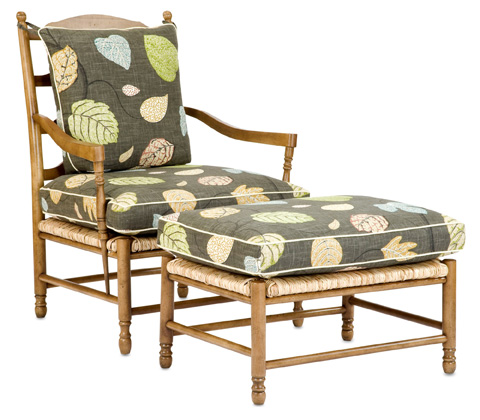 Currey & Company - Avignon Chair - 7006