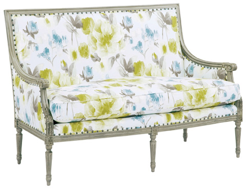 Currey & Company - Lancaster Settee - 7007