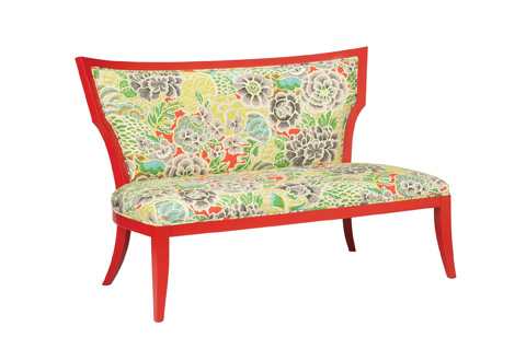 Currey & Company - Garbo Settee - 7014