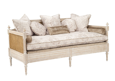 Currey & Company - Luxembourg Daybed - 7045