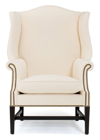 Currey & Company - Kingswood Wing Chair - 7056