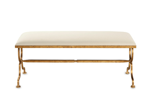 Currey & Company - Gilbert Bench - 7079