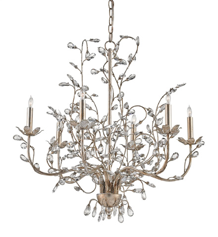 Currey & Company - Crystal Bud Chandelier-Medium - 9973