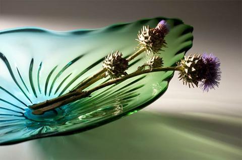 Cyan Designs - Art Glass Plate - 04517