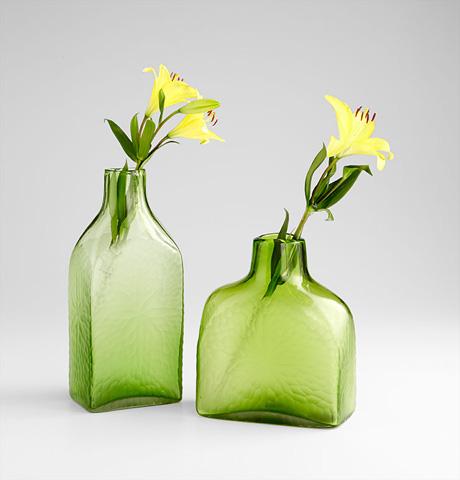 Cyan Designs - Small Marine Green Vase - 06682
