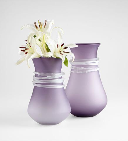 Cyan Designs - Large Purple Rain Vase - 06685