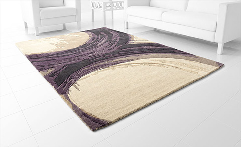 Cyan Designs - Purple Percival Rug - 06934