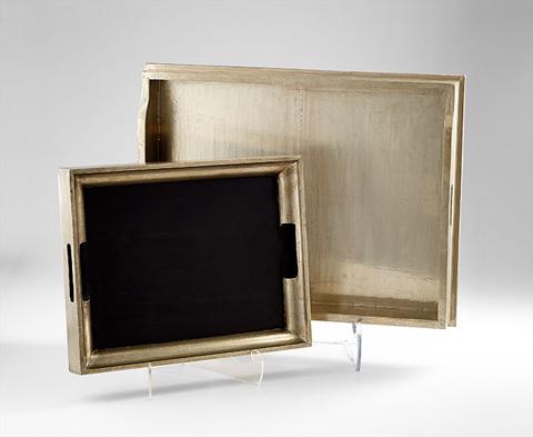 Cyan Designs - Vesper Square Tray - 06984