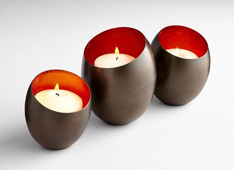 Cyan Designs - Small Minerva Candleholder - 07114