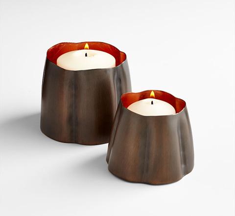 Cyan Designs - Small Fortuna Candleholder - 07125