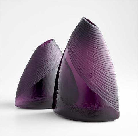 Cyan Designs - Large Mount Amethyst Vase - 07337