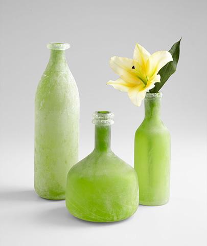 Cyan Designs - Round Viridiana Vase - 07365